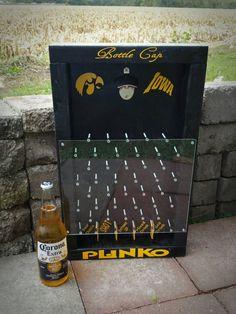 Bottle Cap Plinko Drinko Plinko beer game drinking game