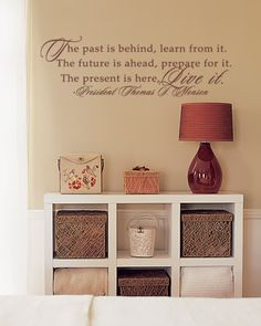 House Decor Ideas Mormon Quotes Lds Inspirational President Monson Vinyl
