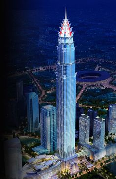 signature tower, Jakarta