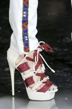 L.A.M.B - 50 Best Shoes of New York Fashion Week - StyleBistro