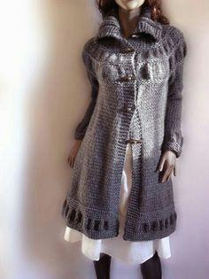 """A"" line knit sweater merino wool & baby alpaca"