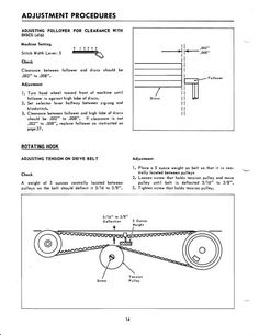 toro drive belt diagram toro drive belt d and belt singer 416 418 sewing machine service manual service manual includes adjusting drive belt