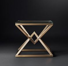 Empire Occasional Collection- Brass (MODCASE15) | RH Modern