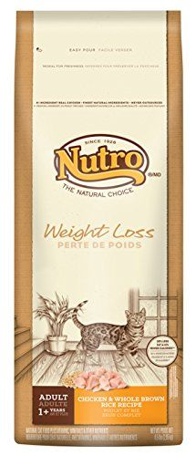 NUTRO Adult Cat Weight Loss Chicken and Whole Brown Rice Dry Cat Food 65 lbs ** Continue to the product at the image link.