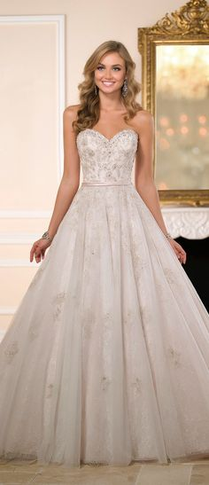 Stella York Fall 2015 Bridal Collection : Special Preview | bellethemagazine.com