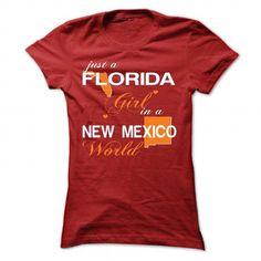 Cool V3-FLORIDA-NEWMEXICO girl T shirts