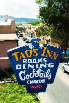 Historic Taos Inn, great restaurant and nice place to stay.