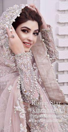 Asian Bridal Dresses, Indian Bridal Outfits, Pakistani Bridal Dresses, Pakistani Wedding Dresses, Wedding Dresses For Girls, Pakistani Dress Design, Party Wear Dresses, Pakistani Bridal Hairstyles, Pakistani Bridal Makeup