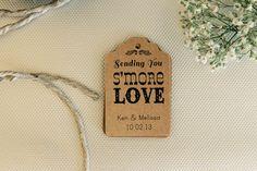 Hoi! Ik heb een geweldige listing gevonden op Etsy https://www.etsy.com/nl/listing/175802406/25-smores-favor-tag-wedding-thank-you