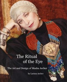 Masha Archer - Belly Dancer, Jewelry Artist and Lover of Assiut - Assuit - Asyut - Azute.  This book is full of lush and lovely images of her jewelry, with the models often draped in absolutely gorgeous vintage assiut.  The photos are sooooo yummy!