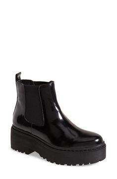 Free shipping and returns on Jeffrey Campbell 'Universal' Chelsea Boot (Women) at Nordstrom.com. A dramatic lugged platform adds punk-rock appeal to a classic Chelsea boot cast in sleek, burnished leather.