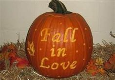 pumpkin love | ... guest sign in table, carve a pumpkin with a lovely quote or saying