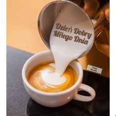 Coffee Time, Latte, Tableware, Ethnic Recipes, Food, Disney, Good Morning, Dinnerware, Tablewares