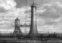 The Bell Rock Lighthouse around 1810
