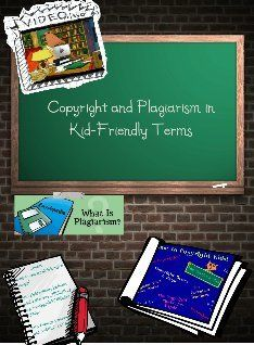 Plagiarism and Copyright for Kids: copyright , copyright, elementary, ethics… Library Lesson Plans, Library Skills, Library Lessons, Library Ideas, Middle School Libraries, Elementary School Library, Research Writing, Research Skills, Library Science