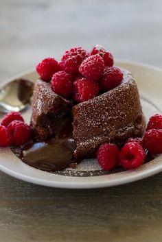 Molten Chocolate Lava Cakes http://www.recipes-fitness.com/molten-chocolatelava-cakes/