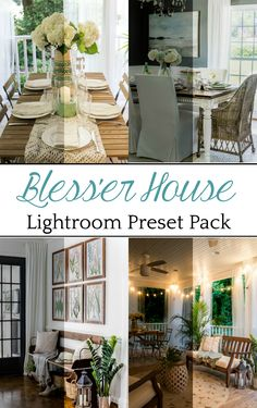 Bless'er House Lightroom Presets | Lightroom presets that make images look true-to-life white balanced to create photos that are vibrant, crisp, and bright as if beautiful, clean light is streaming right into your space with the touch of a button. #photography #photoediting