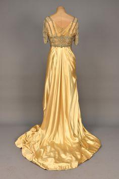 Worth evening dress, 1910-12