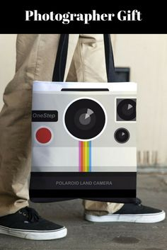 Retro Camera tote bag is a convenient tote to carry your camera and accessories on the shoulder or in hand. Ideal for all photographers and photo enthusiasts when traveling and walking. FREE SHIPPING to U.S. To order visit restylegraphic.com   photographer gift  Camera totes  Gift for him  Gift for her  large totes  designer totes  book bags reusable bag  all over print  shopping bags  thick bag  tote bags  Waterproof tote