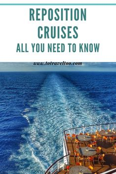 What is a Reposition Cruise? Major cruise lines reposition their cruise ships for the seasons in the Mediterranean and Caribbean. Packing For A Cruise, Cruise Travel, Us Travel, Places To Travel, Travel Tips, Repositioning Cruises, Bucket List Destinations, Travel Destinations, Transatlantic Cruise