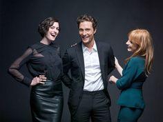 Matthew McConaughey, Anne Hathaway and Jessica Chastain on 'Interstellar' - NYTimes.com