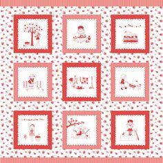 Tasha Noel - The Simple Life - Panel in Red