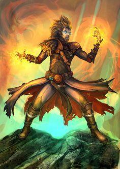 Dark wizard by Tsabo6.deviantart.com on @deviantART