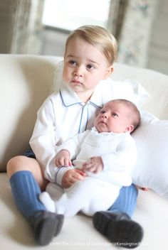 The Cambridges Release Four Photos of George and Charlotte Taken by Kate!