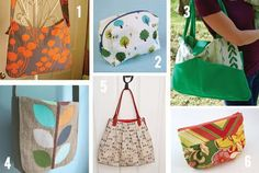 Cactus and Olive: Bag Tutorial Roundup
