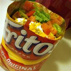 taco salad & other food hacks- Bet you haven't thought of some of these easy prep tips for a meal or snacks. Would be good for a person who doesn't know how to cook or college student.