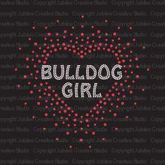 Bulldog Girl - $8.95