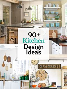 Get inspired by our favorite kitchen designs: http://www.countryliving.com/homes/decor-ideas/kitchen-designs