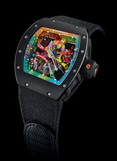 TimeZone : Industry News » N E W M o d e l - Richard Mille RM 68-01 Tourbillon Cyril Kongo