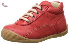 Pololo Terra, Chaussures bateau mixte enfant - marron - Braun (olive 614), 34 EU
