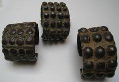 Big dots bronze bangles arunachal