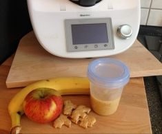 Apfel - Banane - Butterkeks Brei