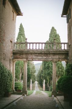 Very much like how I imagine the gate-path of the Risto villa to look