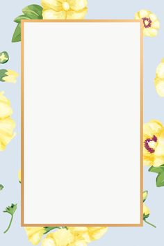 Gold rectangle yellow hollyhocks flower design element | free image by rawpixel.com Floral Print Wallpaper, Bear Wallpaper, Wallpaper Backgrounds, Iphone Wallpaper, Floral Prints, Hollyhocks Flowers, Instagram Story Template, Butterfly Art, Pretty Wallpapers