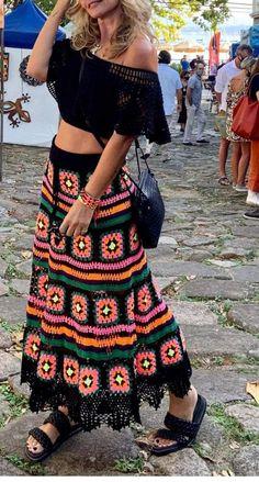 Crochet Skirt Pattern, Crochet Skirts, Crochet Shawl, Crochet Clothes, Crochet Lace, Diy Clothes, Crochet Patterns, Crochet Skirt Outfit, Beautiful Crochet