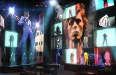 Image result for david bowie v and a