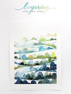 Watercolor Tutorial Part 4: Layering - The Alison Show