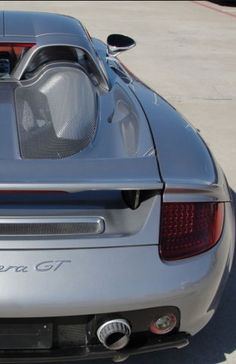 Beautiful Porsche Carrera GT . This #supercar is so unique. How rare? Click to find out here: www.ebay.com/itm/Porsche-Carrera-GT-Carrera-GT-One-owner-Ultra-rare-Major-maintenance-completed-GT-Silver-Terracotta-/231192398745?forcerrptr=true&hash=item35d4240b99&item=231192398745&pt=US_Cars_Trucks?roken2=ta.p3hwzkq71.bsports-cars-we-love