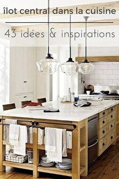 fabriquer un lot de cuisine 35 ides de design cratives kitchens armoires and diy table - Ilot Central Table Cuisine