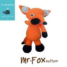 Mr.Fox-Instant Download Amigurumi Crochet PDF by seaandlighthouse