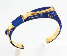 Lee Yazzie bracelet from Glittering World: Navajo Jewelry of the Yazzie Family Ethnic Jewelry, Navajo Jewelry, Southwest Jewelry, Modern Jewelry, Vintage Jewelry, Bijoux Design, Jewelry Design, Lapis Lazuli Jewelry, American Indian Jewelry