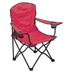 Siège pliable avec accoudoir et porte-canettes. - Cadeaux publicitaire pour la maison et la décoration: chaise pliante - Spot Objet Pub
