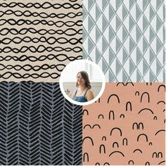 Names to Know – Famous fabric designers – list of our favorites on Cotton & Flax Textile Design, Fabric Design, Pattern Design, Surface Pattern, Beautiful Patterns, Fabric Patterns, Screen Printing, Designers, Design Inspiration