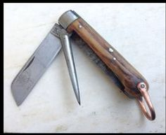 ANTIQUE ROPE KNIVE by Glorypast on Etsy