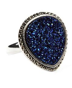 Judith Jack. Druzy and Marcasite together make some serious bling.