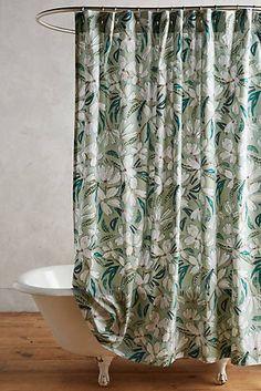 Blanchetta Duschvorhang mit floralem Muster